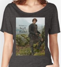 I'll have a Scot on the Rocks!  Women's Relaxed Fit T-Shirt