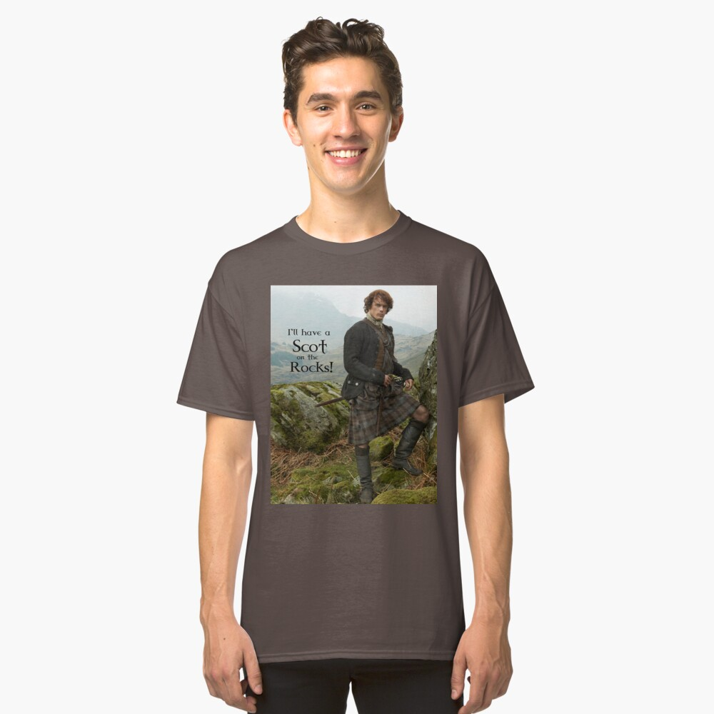 I'll have a Scot on the Rocks!  Classic T-Shirt