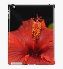 Blood Red Flower iPad Case/Skin