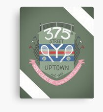 375th Street Y Canvas Print