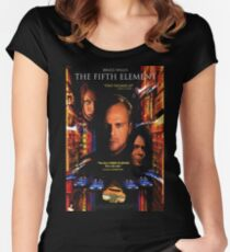 The Fifth Element Women's Fitted Scoop T-Shirt