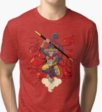 Monkey King Tri-blend T-Shirt