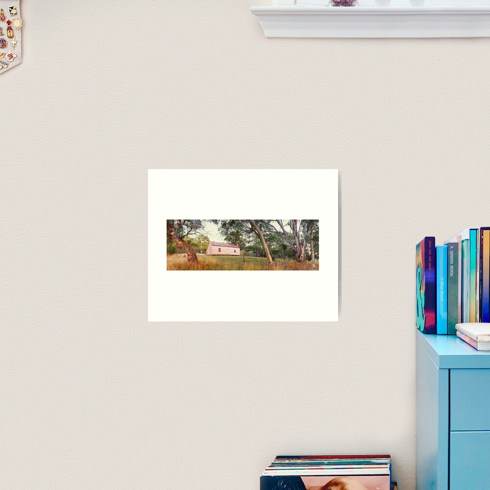 Long Plain Hut, Kosciuszko National Park, New South Wales, Australia Art Print