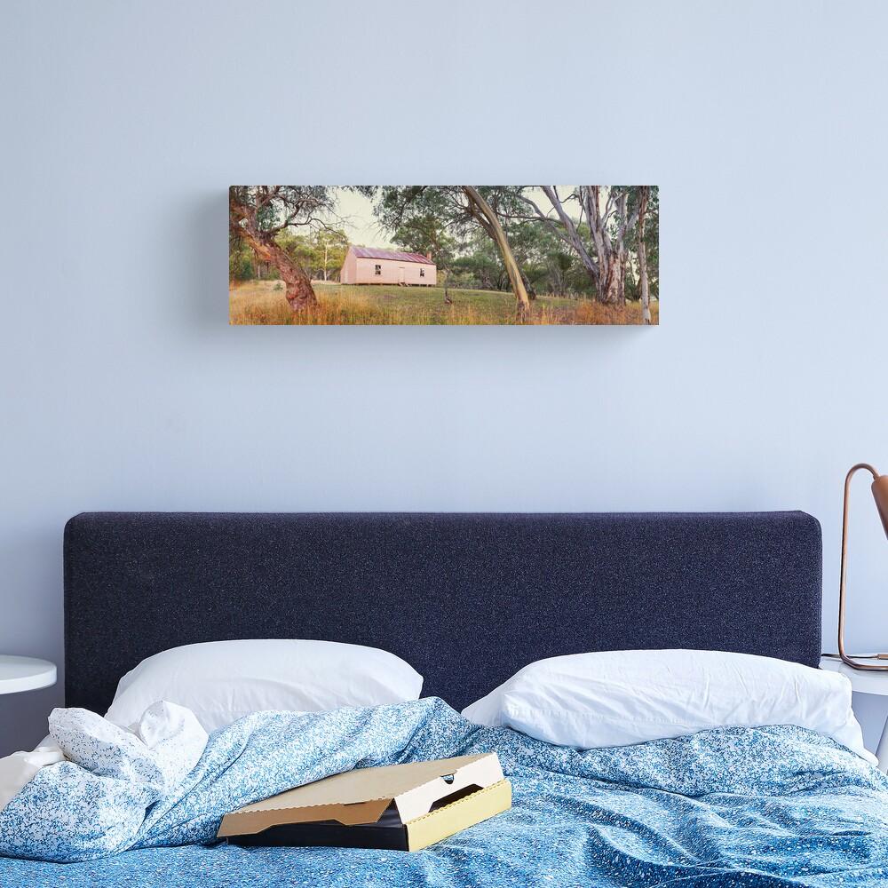 Long Plain Hut, Kosciuszko National Park, New South Wales, Australia Canvas Print