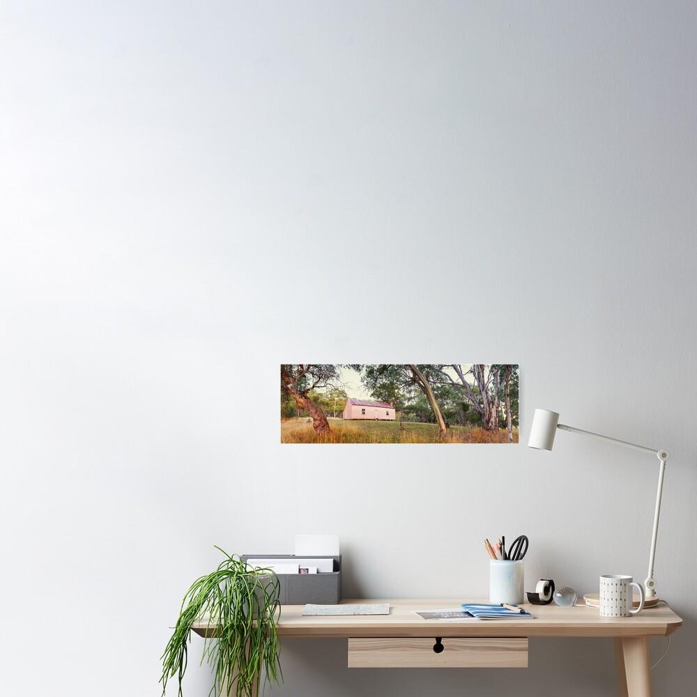 Long Plain Hut, Kosciuszko National Park, New South Wales, Australia Poster