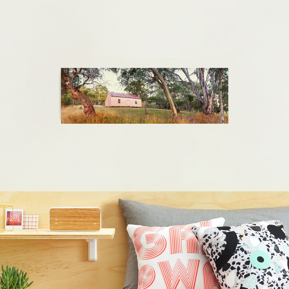 Long Plain Hut, Kosciuszko National Park, New South Wales, Australia Photographic Print