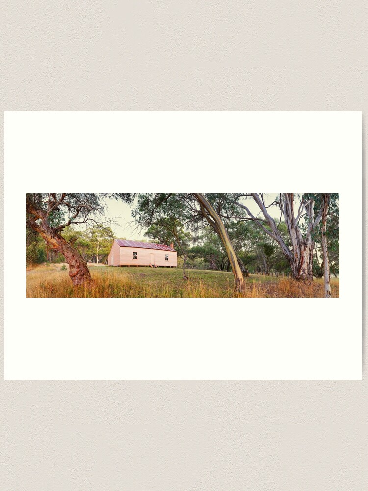 Alternate view of Long Plain Hut, Kosciuszko National Park, New South Wales, Australia Art Print