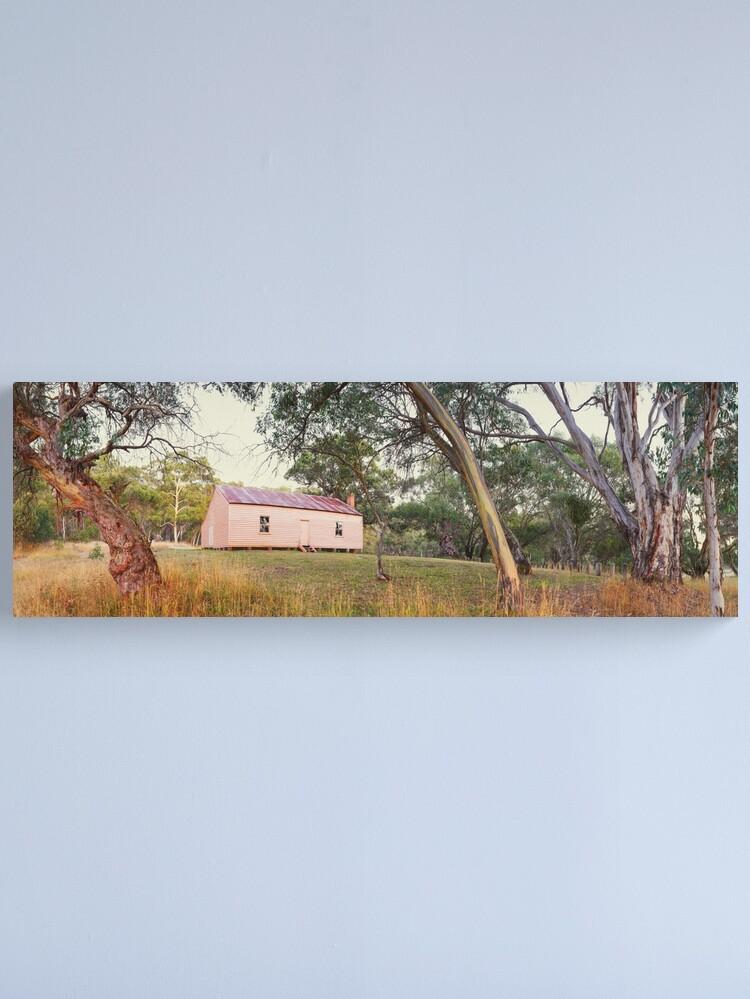 Alternate view of Long Plain Hut, Kosciuszko National Park, New South Wales, Australia Canvas Print