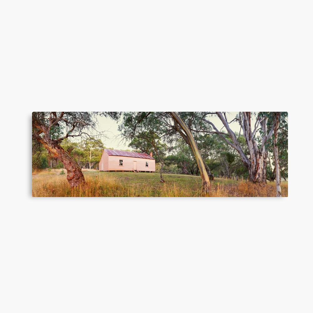 Long Plain Hut, Kosciuszko National Park, New South Wales, Australia Canvas Print