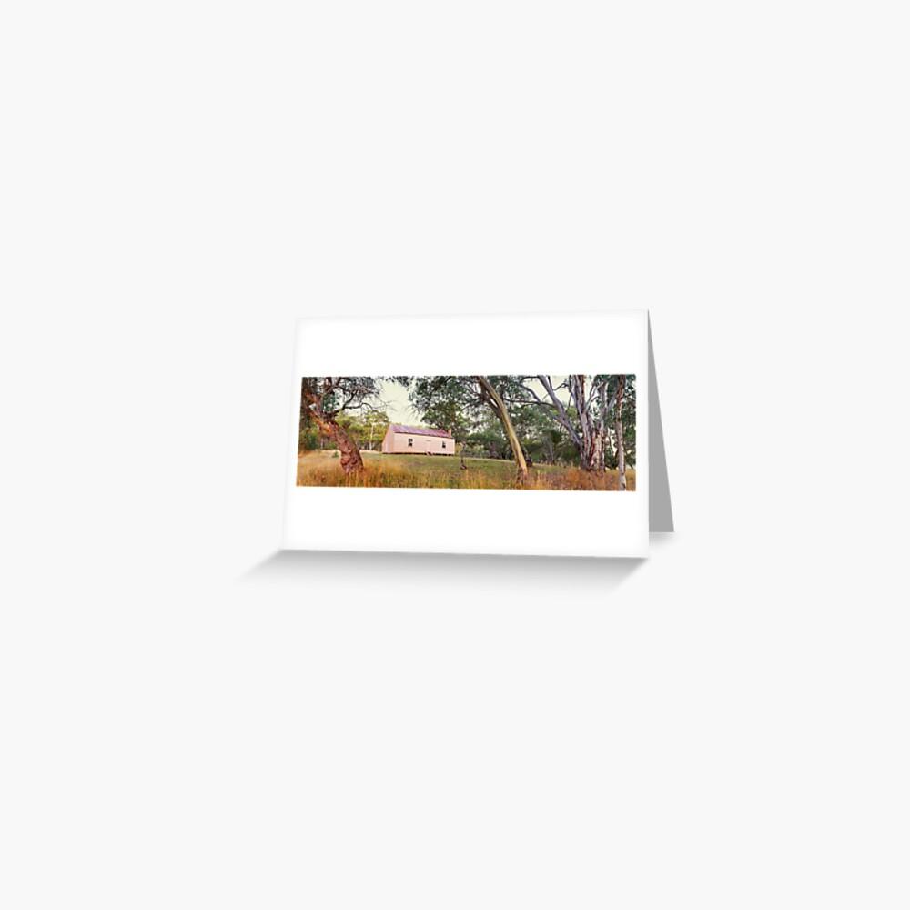 Long Plain Hut, Kosciuszko National Park, New South Wales, Australia Greeting Card
