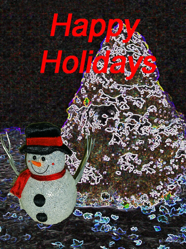 Frosty The Snowman by pbischop