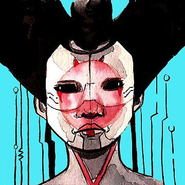 Geisha I by acompanyofn3rds