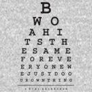 Kimi Raikkonen Quotes - Eye Chart - Dark by EdwardDunning