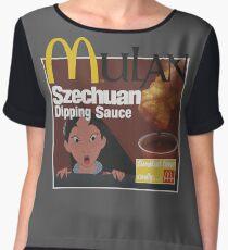Szechuan Dipping Sauce Chiffon Top