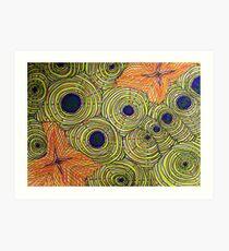 Sea Floor Art Print