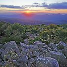 Sunset over the Grampians by Harry Oldmeadow