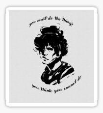 By Eleanor Roosevelt Sticker