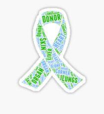 Organ Donation Organ Donor Design Sticker
