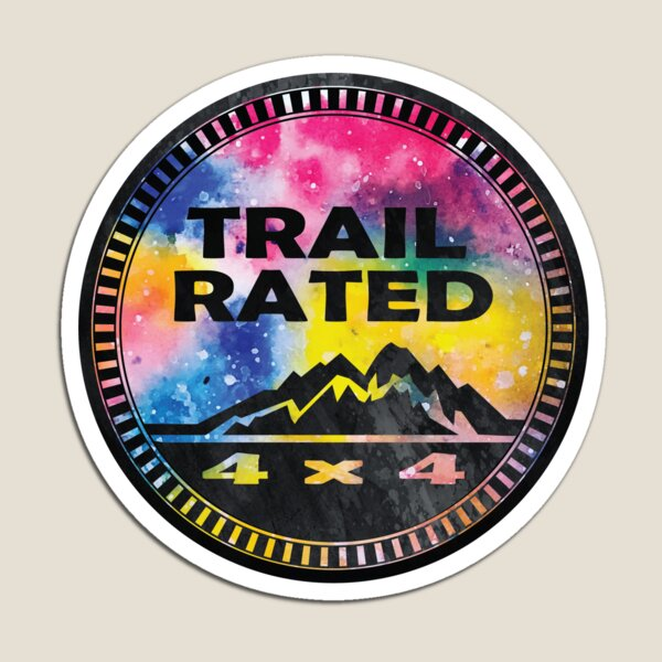 Trail Rated Jeepster III Magnet