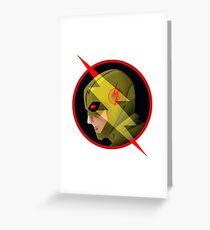 Eobard Thawne : Reverse Flash Greeting Card