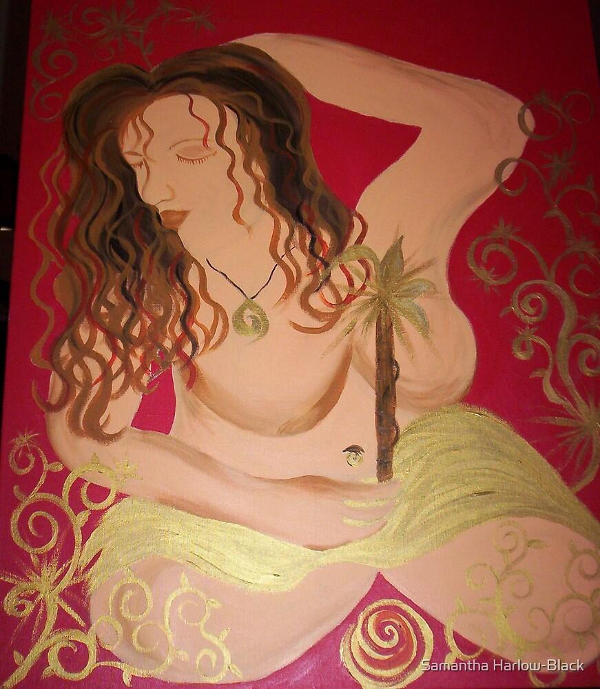Star goddess by Samantha Harlow-Black