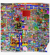 /r/Place Final (Cleaned) Poster