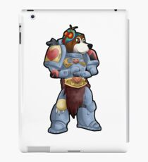 Space Beagle Pup 40k and a Half Illustration iPad Case/Skin