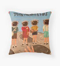 Moon Kids Throw Pillow