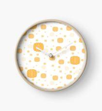 Pumpkin Party Clock