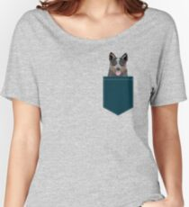Kellan - Australian Cattle dog gifts and gifts for cattle dog owners dog gifts for a dog person Women's Relaxed Fit T-Shirt