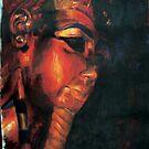egypt god- arcylic by wingyinchan