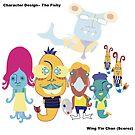 character design - Te fishy by wingyinchan