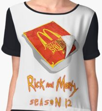 Rick and Morty - Szechuan Sauce Chiffon Top