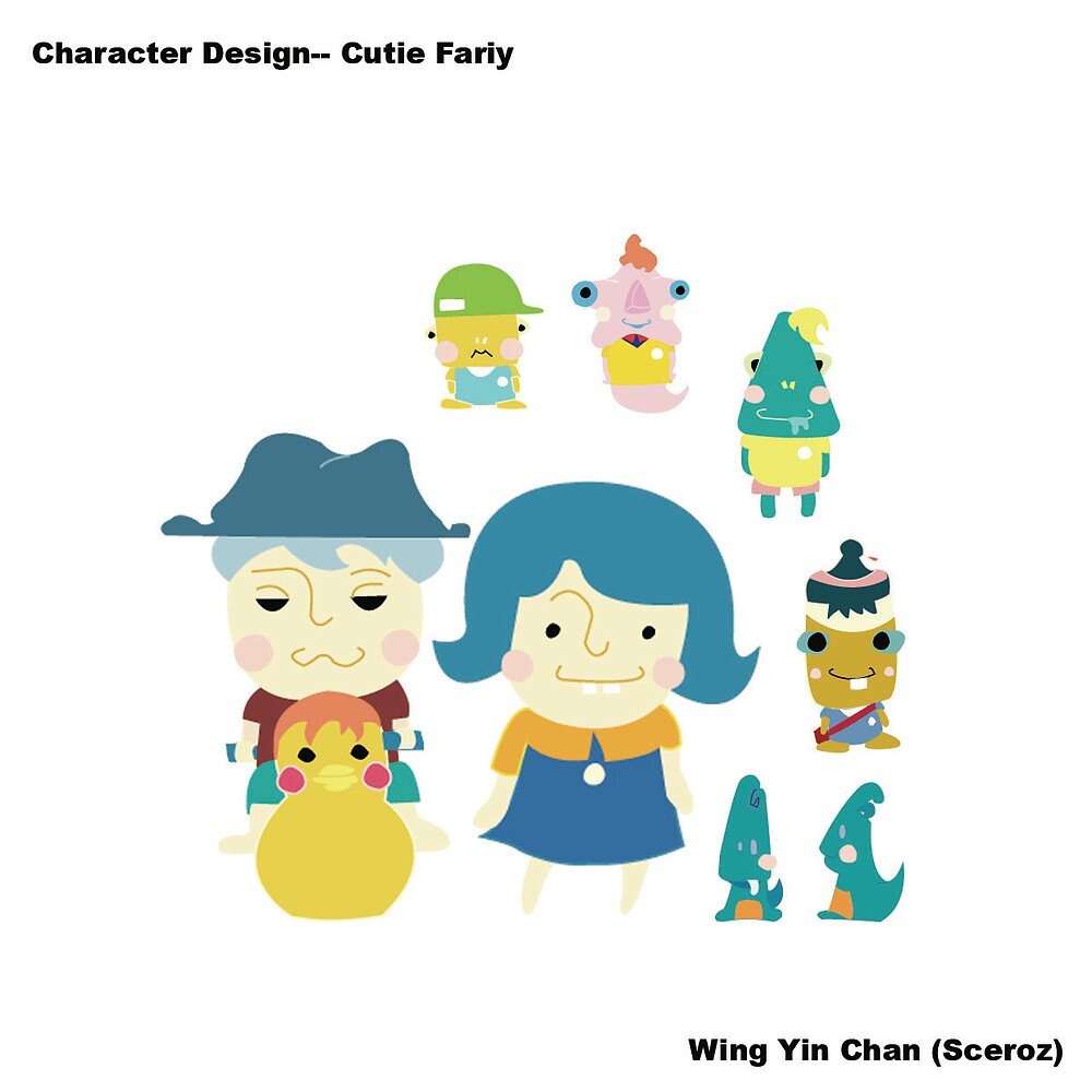 character design - cutie fairy by wingyinchan