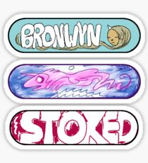 Bronwyn's Boards (Adventure Time)  Sticker