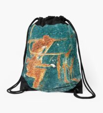 Cricket anyone? Drawstring Bag