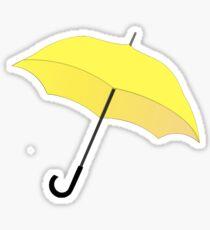 HIMYM Gelber Regenschirm Sticker