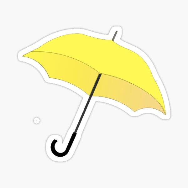 Paraguas amarillo HIMYM Pegatina