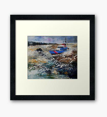 coastguards Framed Print