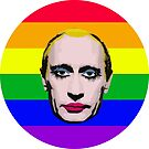Putin in Makeup Rainbow by MarcoD