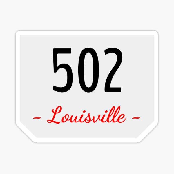 "University of Louisville//Football  s//n //Print /""Area Code 502/"" UofL"