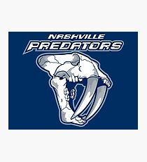 Nashville Predators  Photographic Print