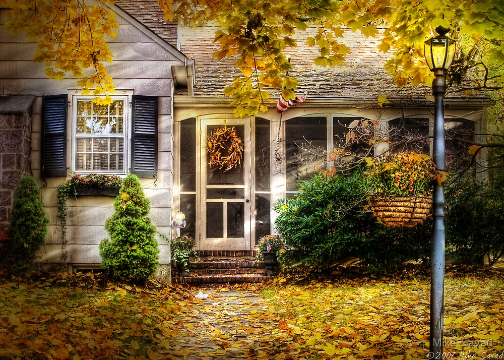 In Autumn by Michael Savad