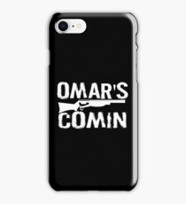 Omar's Comin - The Wire iPhone Case/Skin