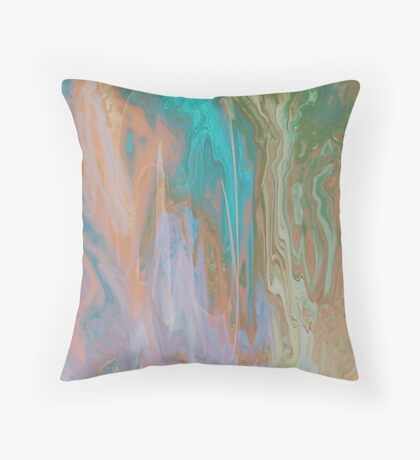 THE DANCING WATERFALL FROM HEAVEN!!! Throw Pillow