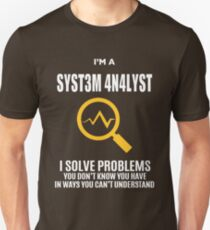 SYSTEM ANALYST TEENCODE COOL SHIRT Unisex T-Shirt