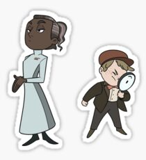 The Director and Boy Detective Sticker