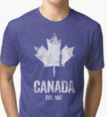 Canada - Established 1867 Tri-blend T-Shirt