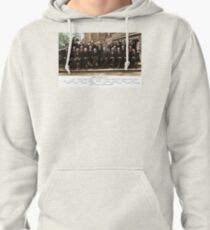 Colorized - Solvay Conference 1927. Einstein, Curie, Bohr and more. Pullover Hoodie
