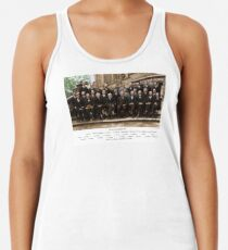 Colorized - Solvay Conference 1927. Einstein, Curie, Bohr and more. Women's Tank Top